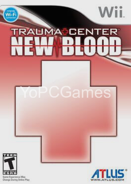 trauma center: new blood poster
