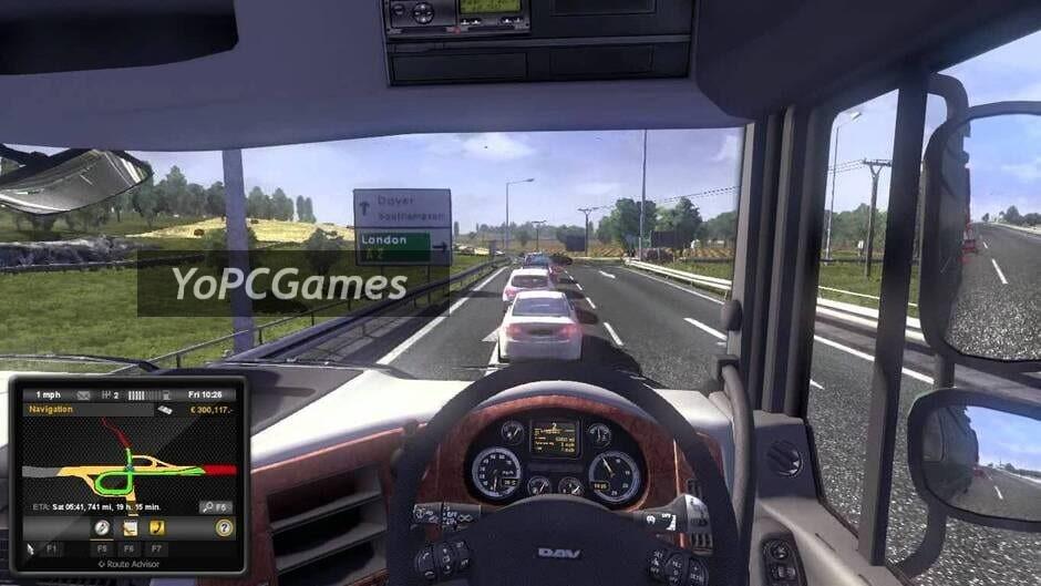 uk truck simulator screenshot 1