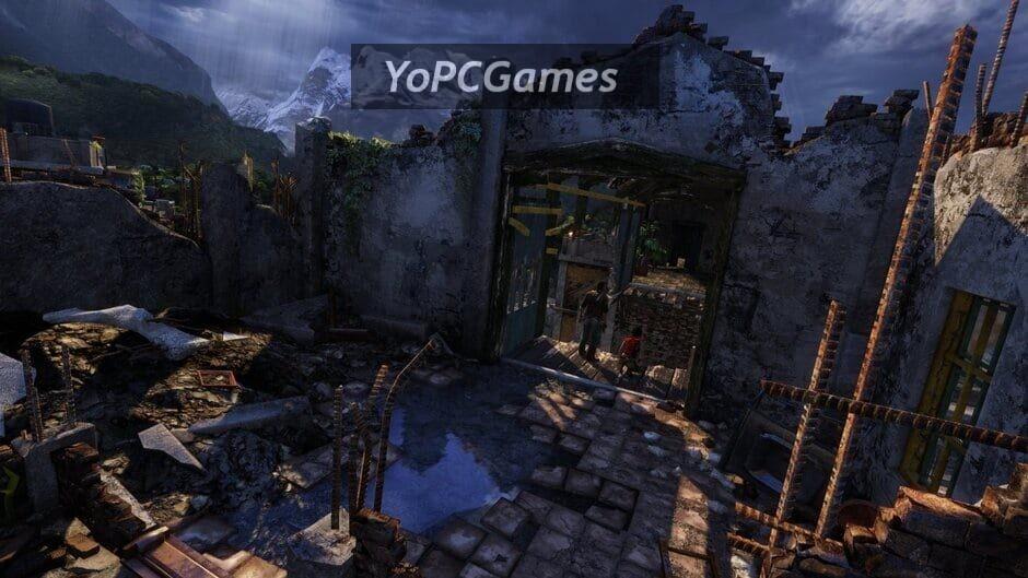 uncharted: the nathan drake collection screenshot 2