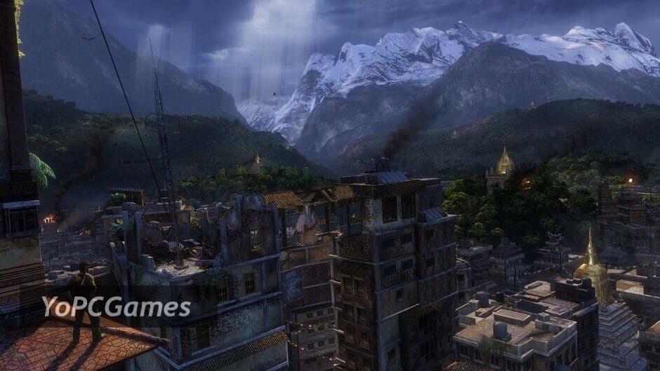 uncharted: the nathan drake collection screenshot 3