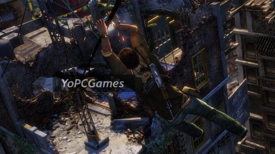 uncharted: the nathan drake collection screenshot 4