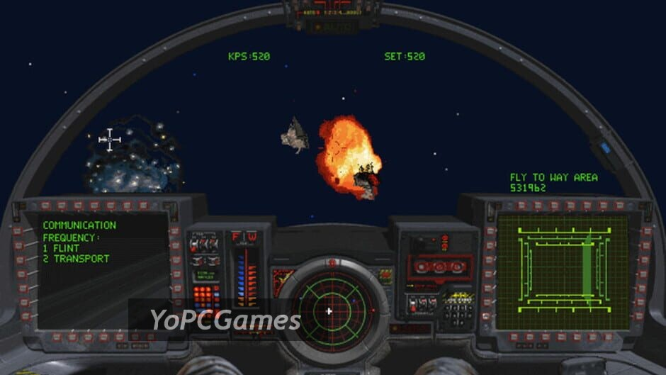 wing commander iii: heart of the tiger screenshot 1