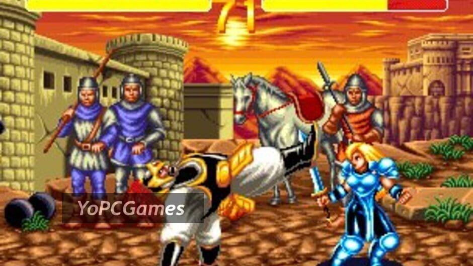 world heroes 2 screenshot 1