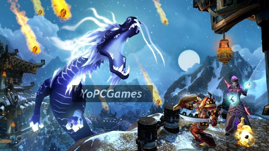 world of warcraft: mists of pandaria screenshot 1