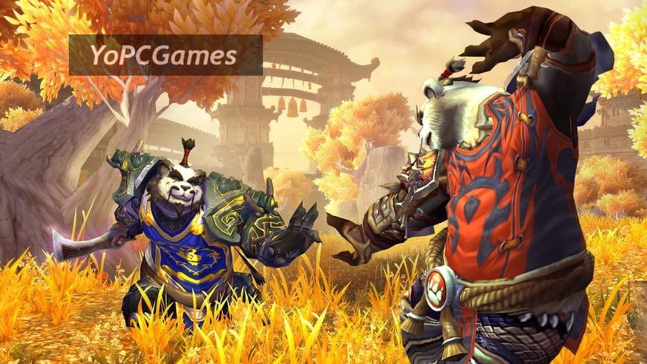 world of warcraft: mists of pandaria screenshot 3