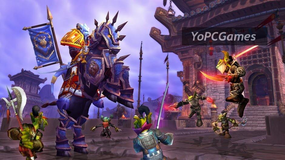 world of warcraft: mists of pandaria screenshot 4
