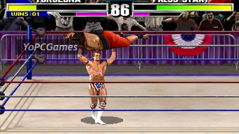 wwf wrestlemania: the arcade game screenshot 1
