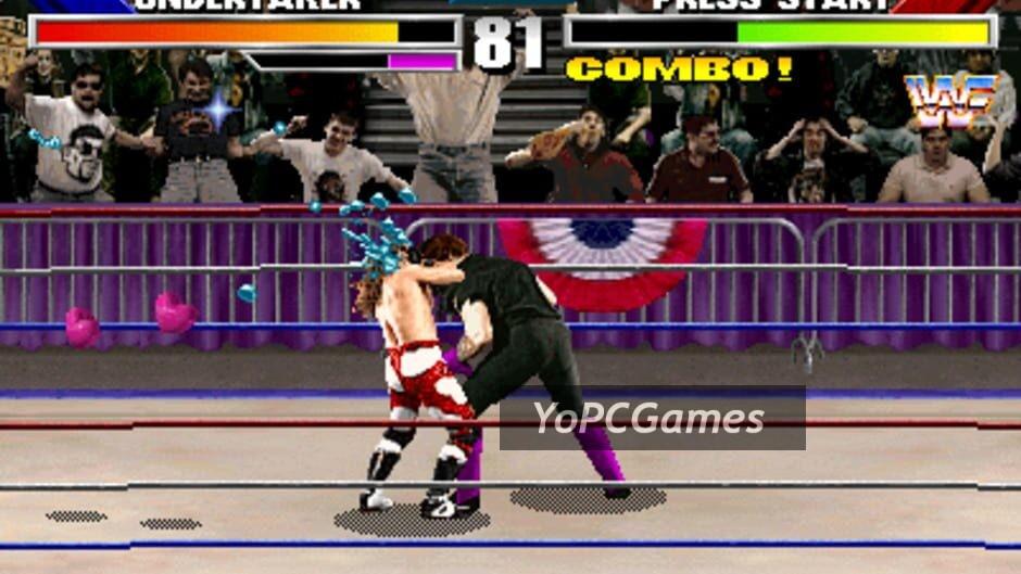 wwf wrestlemania: the arcade game screenshot 3