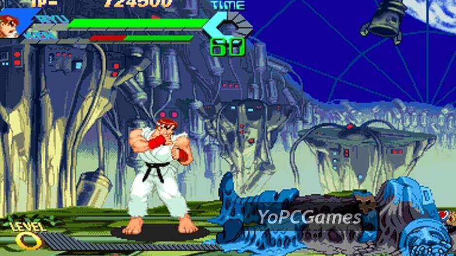 x-men vs. street fighter screenshot 4