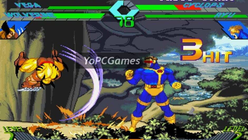 x-men vs. street fighter screenshot 5