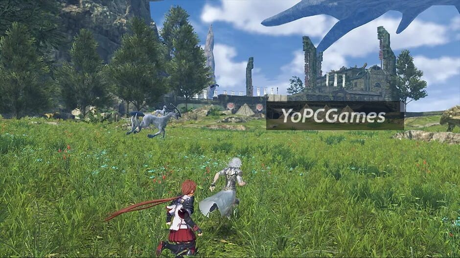xenoblade chronicles 2: torna - the golden country screenshot 1