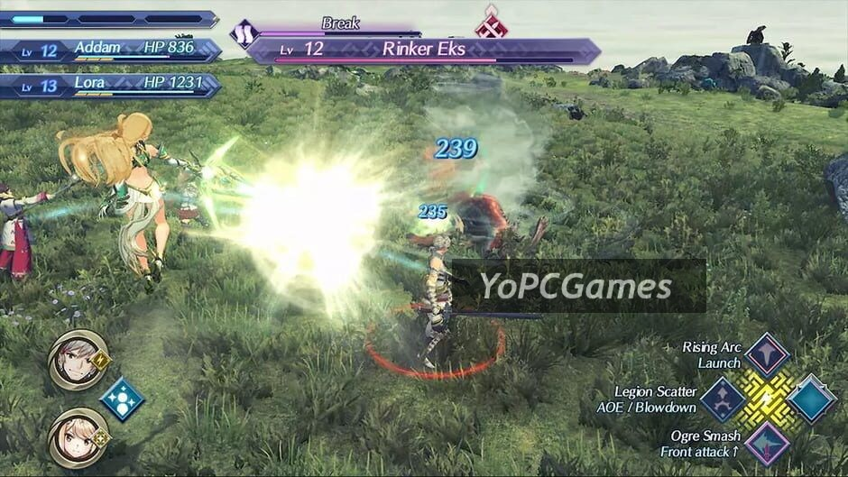 xenoblade chronicles 2: torna - the golden country screenshot 5