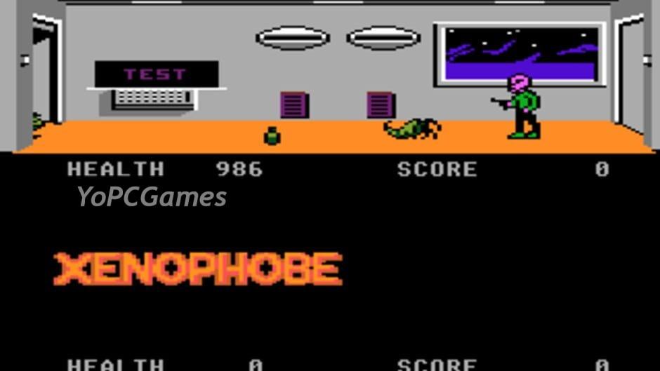 xenophobe screenshot 1