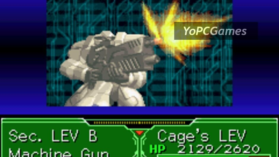 zone of the enders: the fist of mars screenshot 2